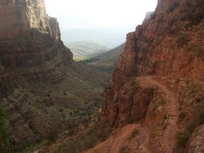 Switchbacks Along The Trail