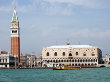 The Doge's Palace With St. Mark's Bell Tower