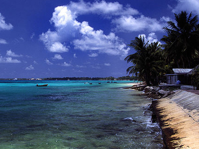A Beach At Funafuti Atoll - Tuvalu