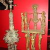 A Display Of African Metalwork Art