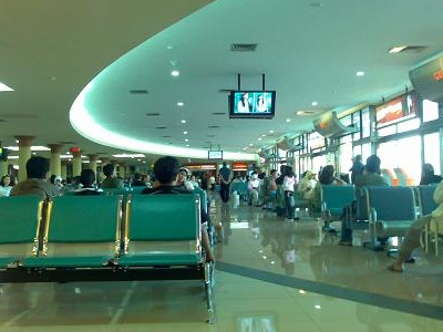 Adisutjipto Airport's Domestic Departure Lounge