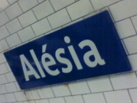 Alesia Metro Station