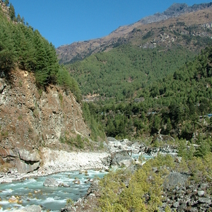 Amazing Views During The Trail Going To Namche