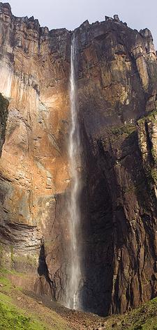 Angel Falls During The Dry Season