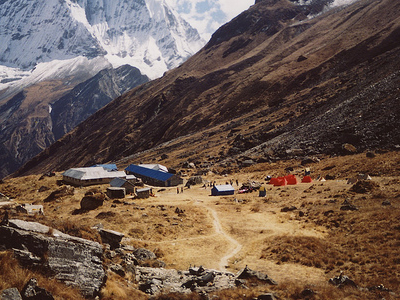 Annapurna Base Camp View - Nepal