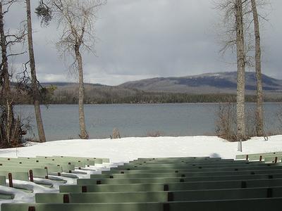 Apgar Campground Amphitheater - Glacier - Montana - USA