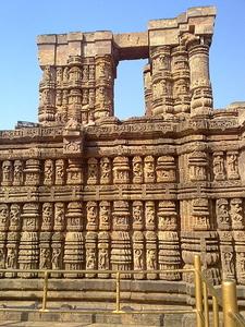 A Portion Of Konark Sun Temple