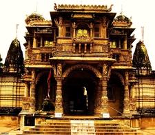 Architecture Hutheesing Jain Temple