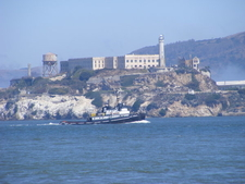 Arriving By Boat To Alcatraz