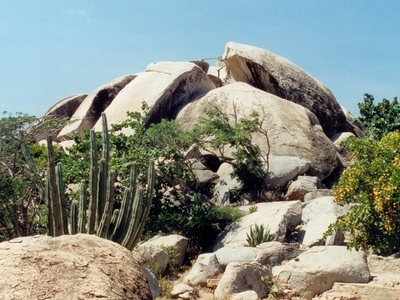 Rock Formations Near Ayo Village