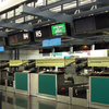 Baiyun Airport Counter