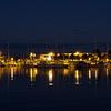 Black Point Marina At Night