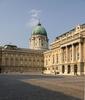 Budapest Burgpalast Innenhof IMGP