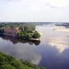 Bugo-Narew & Vistula River Confluence At Modlin