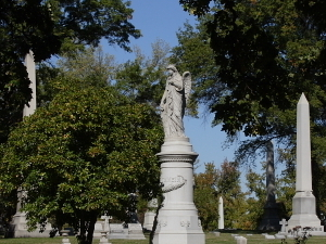 Bellefontaine and Calvary Cemeteries