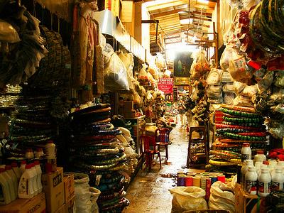 Cambodia Shopping  The Russian Market