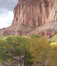 Capitol Reef Cathedral Valley Campsite