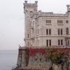 Castello Di Miramare Lato Mare
