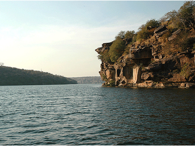 Chambal River Water