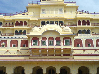 Chandra Mahal Fornt View