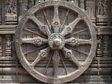 Chariot Wheel Of Konark Temple