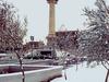Plaza Mayor After A Snowfall