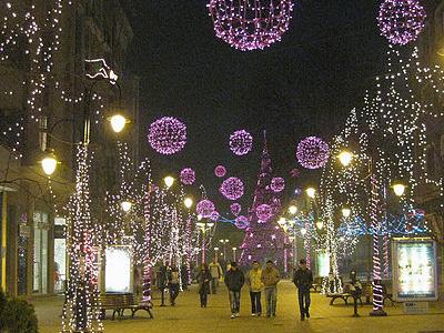 Christmas Lights Festivals In Skopje