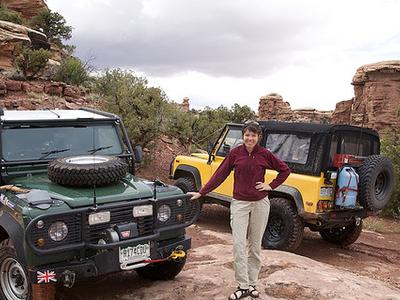 Colorado Overlook Trail - Canyonlands - Utah - USA
