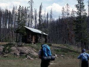 Cougar Creek Patrol Cabin