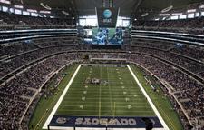 Cowboys Stadium Field