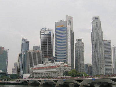 Downtown Singapore Buildings