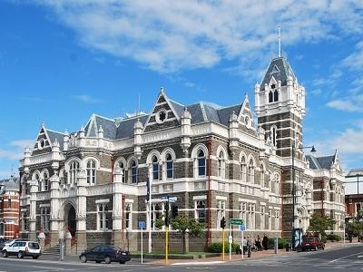 Dunedin Law Courts - Otago - South Island NZ