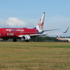 Virgin Blue & Jetstar Jets On The Taxiway