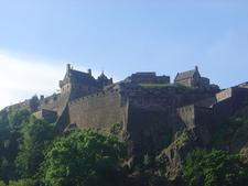 Edinburgh Castle Backside