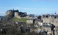 Edinburgh Castle From The South East