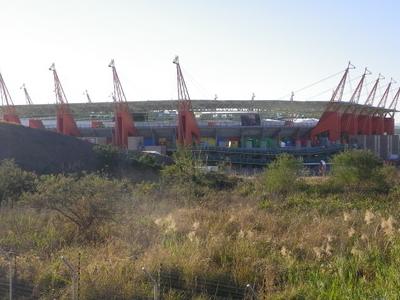 Exterior View Of  Mbombela  Stadium
