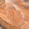 Fish Art Under Rock Overhang
