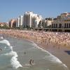 Beach And Casino In Biarritz