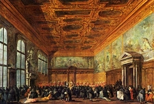 Reception In The Palace