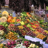 Fruits And Vegetables For Sale At La Boqueria