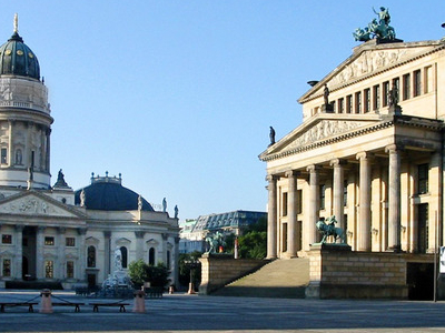 German Cathedral And Concert Hall