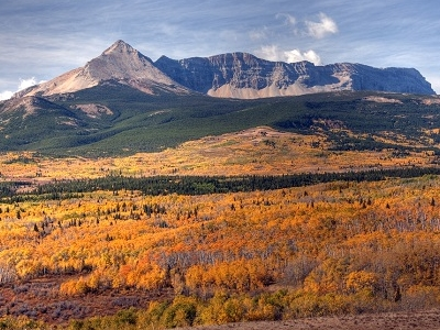 Glacier NP Autumn Colors Montana