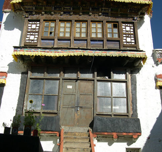 Gompa Phyang View