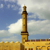 Minaret Of Grand Mosque Dubai