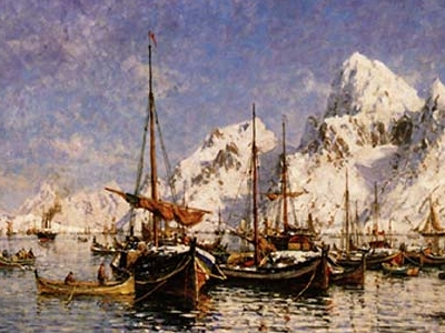 Gunnar  Berg  Fra  Svolv  C 3  A 6r Havn