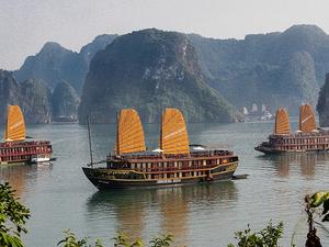 Ha Long Bay on Golden Lotus Cruise with Kayaking Photos