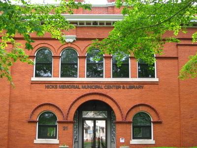 Hicks Memorial Municipal Center Library Tolland C T Gobeirne