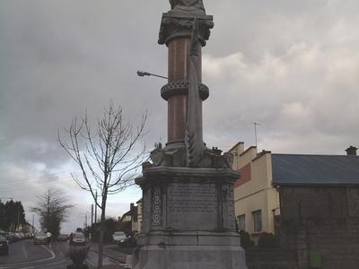 Humbert Monument On Humbert Street In Ballina