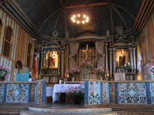 Interior Of The Church Of Achao