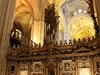 Inside Seville Cathedral